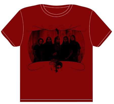 Get your hands on the new Phavian Red Shirt design