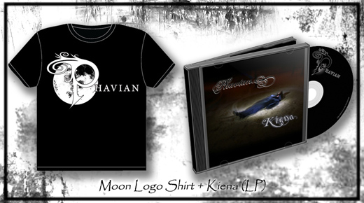 Kiena (LP) + Moon Logo Shirt