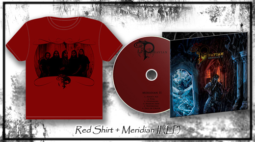 Meridian II (LP) + Red Shirt